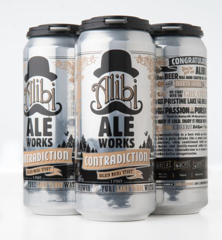 Alibi Ale Works, Contradiction Golden Mocha Stout
