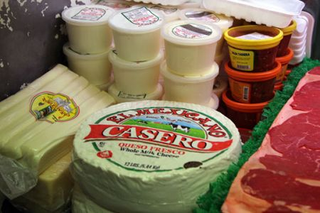 La Mexicana Meat Market & Taqueria, Fresh Mexican Cheese & Cream