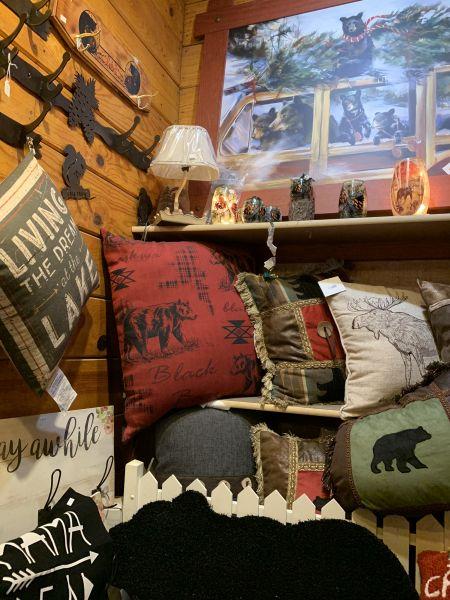 The Robin's Nest Lake Tahoe, Mountain Themed Throw Pillows