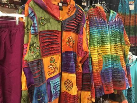 Cabin Fever Shopping Emporium, Women's Colorful Jackets