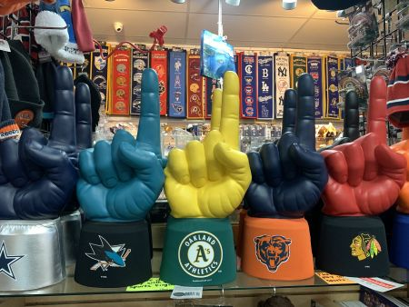 Cabin Fever Shopping Emporium, Sports #1 Fingers