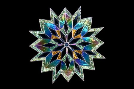 Stained Glass Snowflake Starburst Joanne S Stained