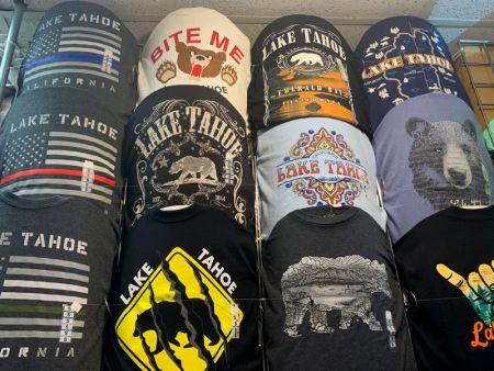 Cabin Fever Shopping Emporium, Custom Tahoe T-Shirts