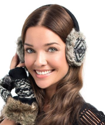 What a Girl Wants, Knit & Fur Ear Muffs