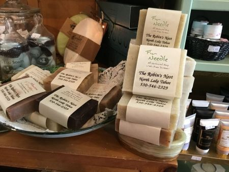 The Robin's Nest Lake Tahoe, Hand Crafted Soap