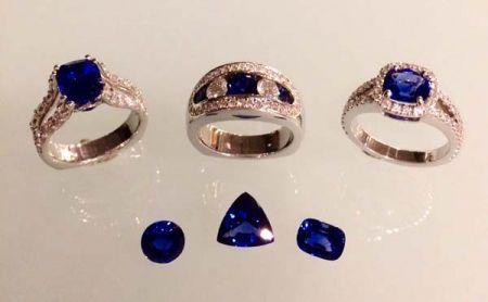 Steve Schmier's Jewelry, Sapphire in Blue