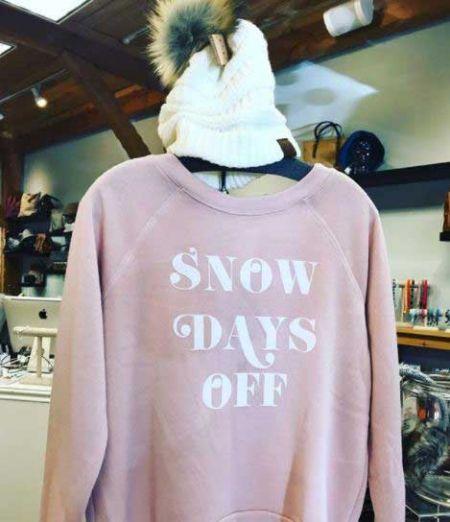Mo, Jo & Zoe, Snow Days Sweatshirt