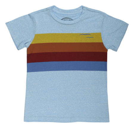 Jack + Emmy, Tiny Whales Graphic Boy Tees
