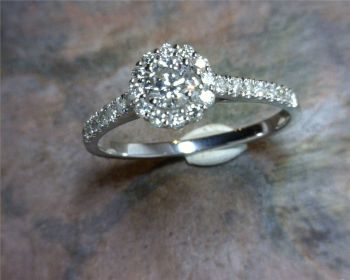 Bluestone Jewelry & Wine, 20% Off engagement diamonds & rings