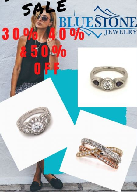 Bluestone Jewelry & Wine, SUPER SALE 30%, 40% & 50% OFF of select items