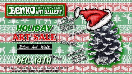 Benko Art Gallery, Holiday Art Sale