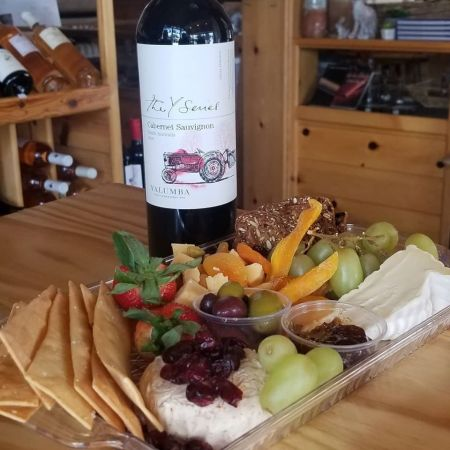 The Cork and More, Cheese & Wine for Two
