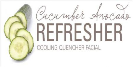 Stillwater Spa & Salon, Cucumber Avocado Refresher - Cooling Facial