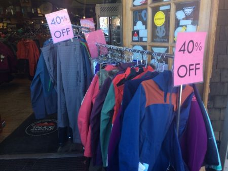 Tahoe Sports Hub, Up to 40% Off Outerwear