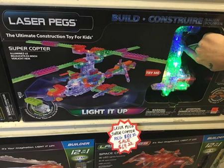Toy Maniacs, Laser Pegs Super Copter