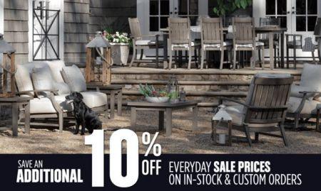 Mountain Home Center, Pre-Season Outdoor Furniture Sale