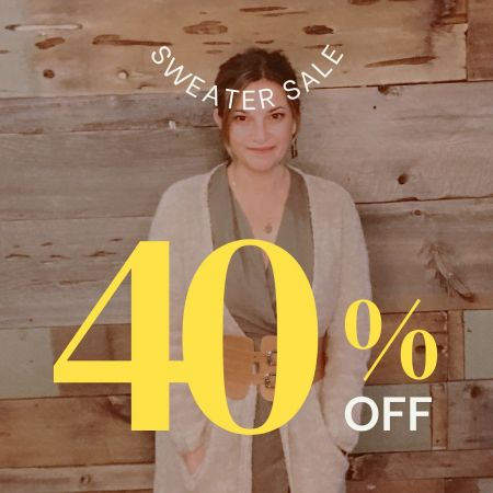 Ginger Threads Collections, 40% Off Sweaters
