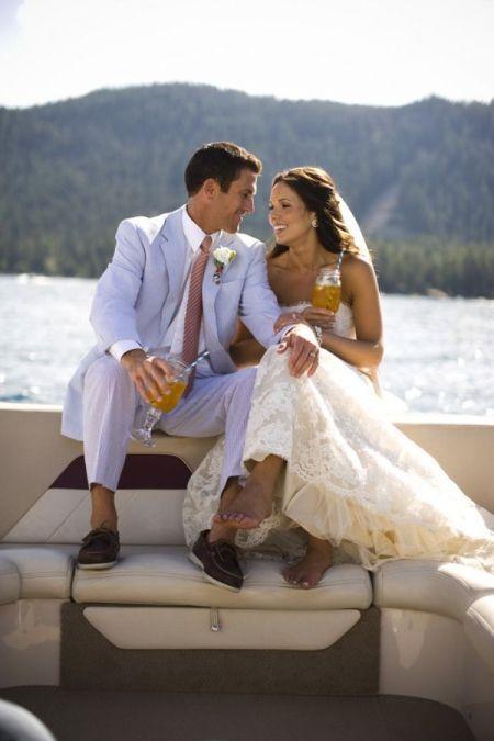Tahoe Yacht Charters, Tahoe Elopement