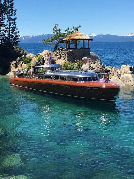Public Tours By Water Thunderbird Lodge Lake Tahoe