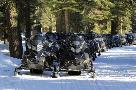 Lake Tahoe Snowmobile Tours, Group Summit Snowmobile Adventure