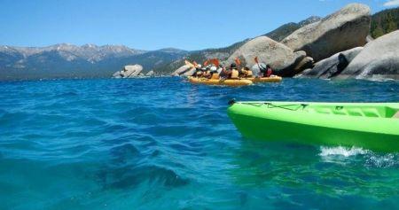 Tahoe City Kayak and Paddleboard, Sand Harbor Kayak Tour