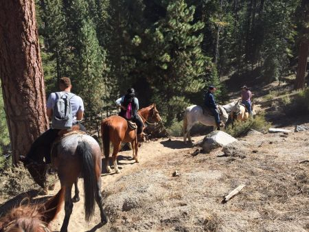 Zephyr Cove Stables, Breakfast & Horseback Trail Rides