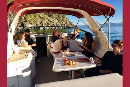 Stellar Tahoe Luxury Boating, Bar Hopping Boat Charter