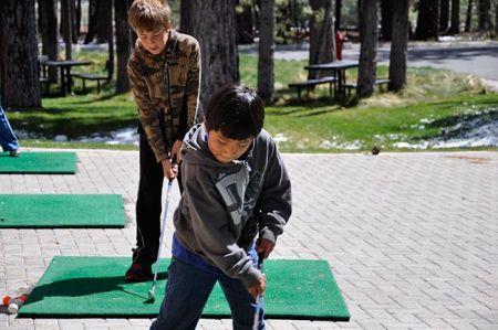 Ponderosa Golf Course, Golf Camp for Kids