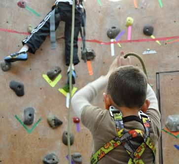 Truckee Donner Recreation & Park District, Climbing Parties