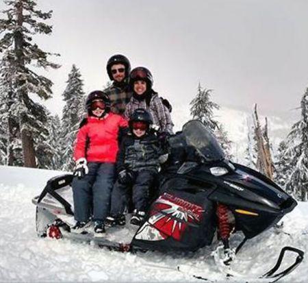 Coldstream Adventures, Guided Family Snowmobile Tour