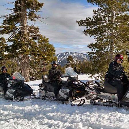 Coldstream Adventures, Private Snowmobile Tour