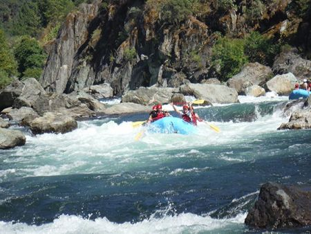 IRIE Rafting, Raft the Middle Fork American River