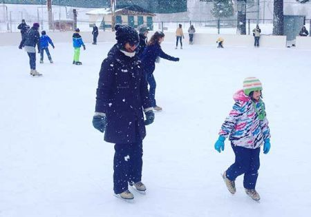Truckee Ice Rink, Ice Rink Parties with Warming Hut Rental