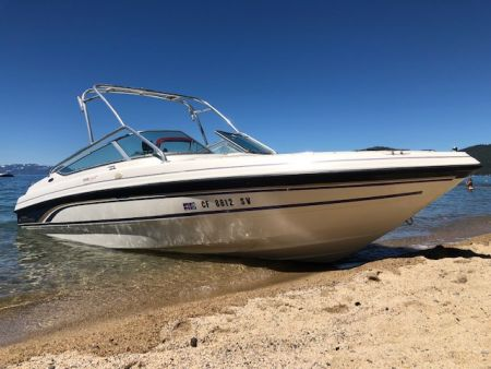 Tahoe Boat & RV Rents, 24' Chaparral Boat Rental