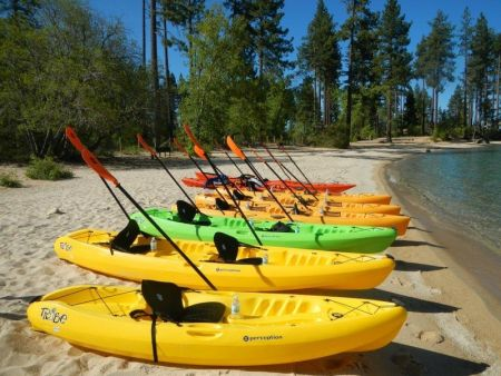Tahoe City Kayak and Paddleboard, Single Kayak Rentals