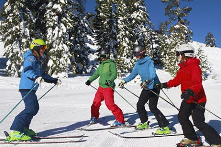 Sugar Bowl Resort, First Time Ski & Snowboard Lessons