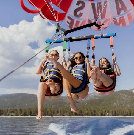 Action Water Sports, Parasailing