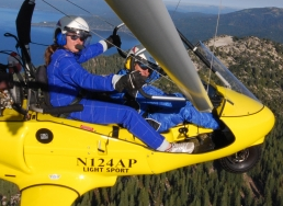 Hang Gliding Tahoe, AROUND TAHOE HANG GLIDING