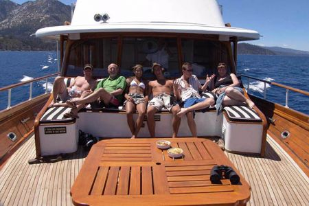 Tahoe Cruises Safari Rose, Private Boat Charters