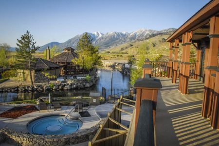 David Walley's Hot Springs Resort and Spa, Relax in Natural Hot Springs