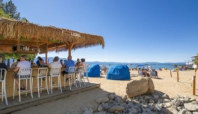 Tahoe Beach Retreat & Lodge, Tasty Cocktails & Tahoe Views at the Tiki Bar