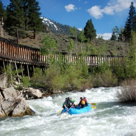 IRIE Rafting, Raft the Truckee River
