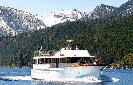 Tahoe Cruises Safari Rose, Emerald Bay Lunch Cruise