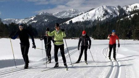 "Tahoe Donner Cross Country Ski Area, 2 for 1 ""Learn to Ski Month"" Private Lesson Package"