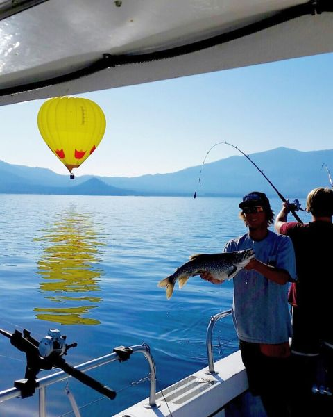 Fishing report august 18 2016 lake tahoe for Lake tahoe fishing guides