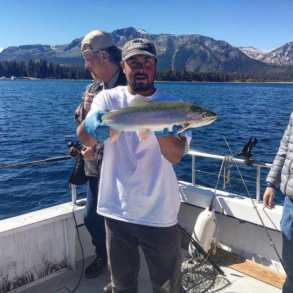 Fishing report october 9 2016 lake tahoe for Lake tahoe fishing guides