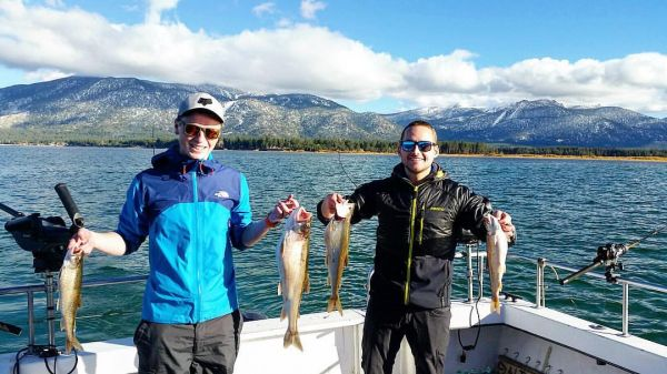Fishing report november 2 2016 lake tahoe for Tahoe sport fishing