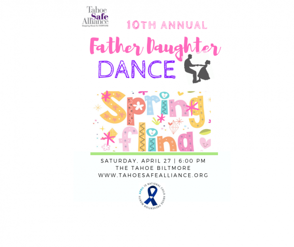 10th Annual Father Daughter Dance | Tahoe Safe Alliance