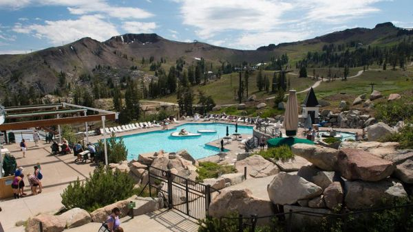 Summer music series at high camp the village at squaw - High camp swimming pool squaw valley ...